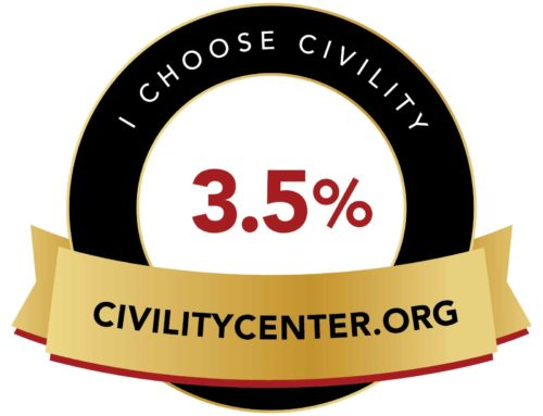 """The 3.5% Community Civility Initiative"" of the Civility Center"